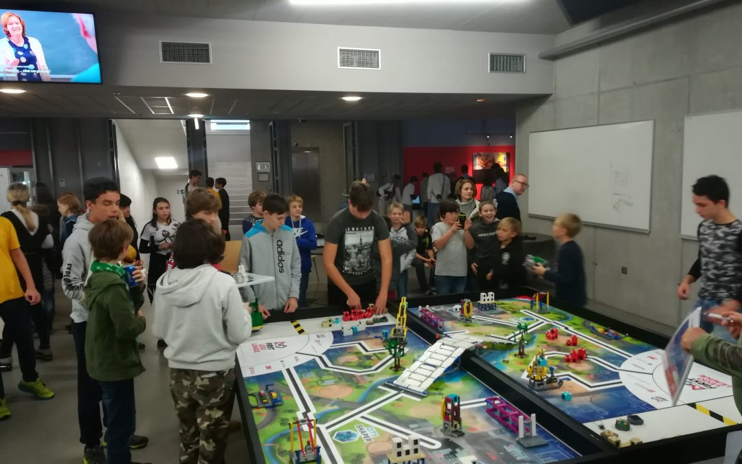 Trening lego robotov
