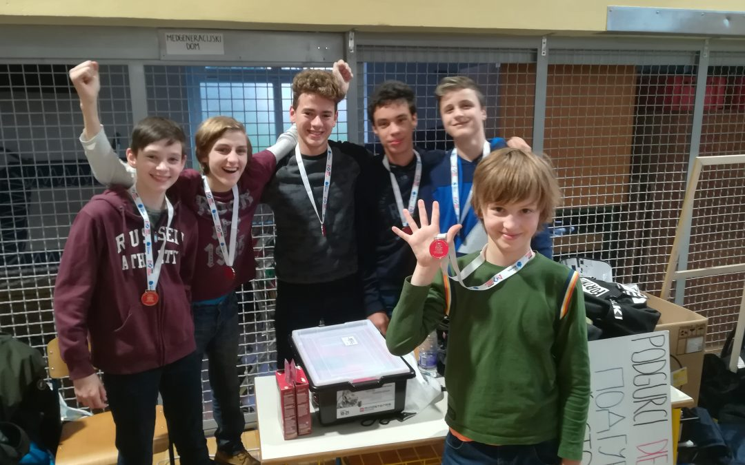 Regijski turnir FLL – lego roboti