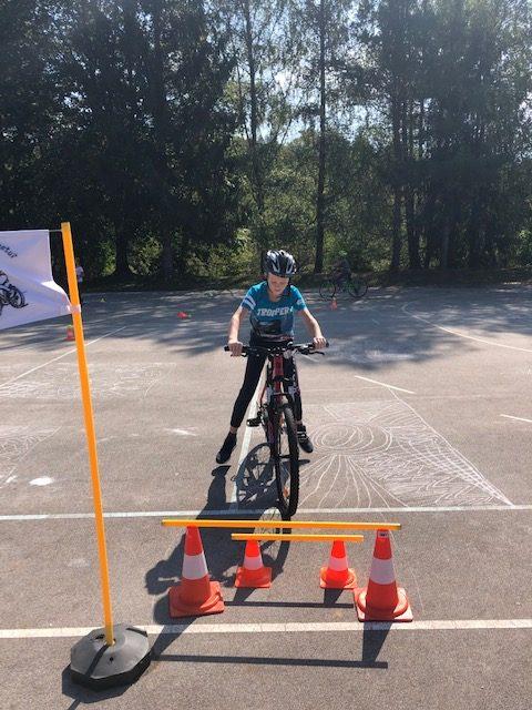 Spretnostni in prometni poligon s kolesi