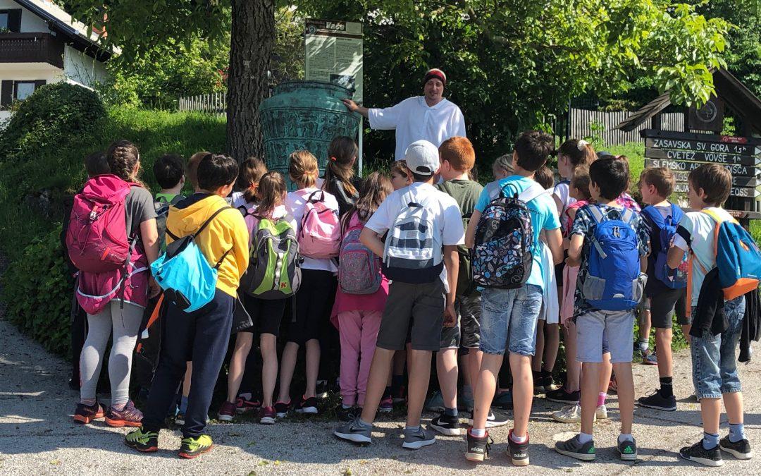 Poučna ekskurzija učencev 4. in 5. razreda